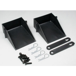 Associated Battery Cups w/Hardware (2)