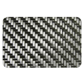 Carbon Fiber Fabric 5.6oz 2x2 TWILL 9X9""