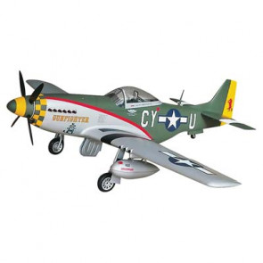 Top RC Model P-51D Mustang Gunfighter 50-60cc/EP ARF 89