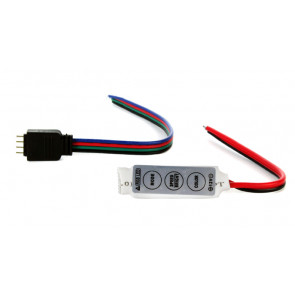 Controller and 4-Pin Connector for Color-Changing LED Strips