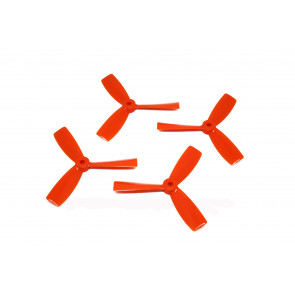"DAL 4"" 4045 3-Blade Bullnose Propeller, Orange"