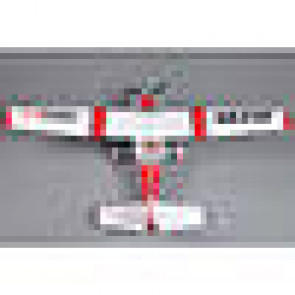 FMS Sky Trainer 182 PNP, 1400mm: Red