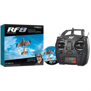 Great Planes RealFlight RF8 w/InterLink-X Controller