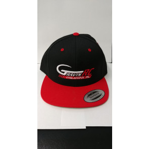 Graves RC Hat 2017 - Snap Back - Red and Black