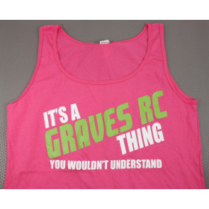 Graves RC Womens Tank Top, Pink