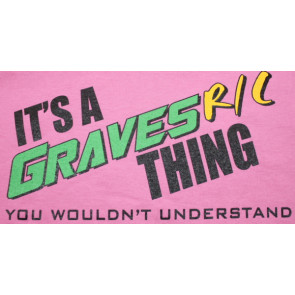 Graves RC Hobbies Car T-Shirt, Pink, 2X