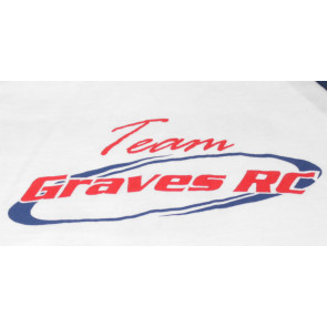 GRAVES RC HOBBIES Team Shirt, White, Youth
