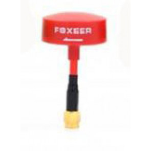 Foxeer 5.8Ghz Circular Polarized Omni Mini TX/RX RHCP Short Antenna, Red