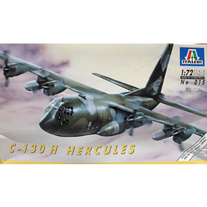 Italeri 1/72 Lockheed C-130 Hercules Transport Plane Model Kit
