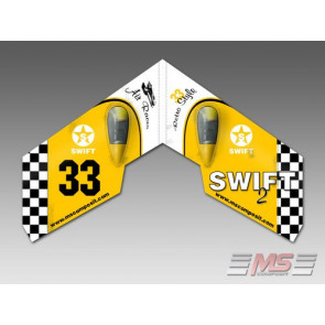 MS-13000-60 MS Composit Swift II - Retro Yellow