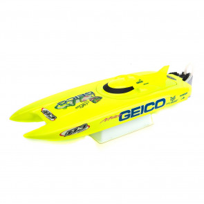 Pro Boat Miss Geico 17-inch Catamaran Brushed: RTR