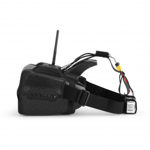Headplay SE Head Mounted Display with DVR and RHO Lens - Black