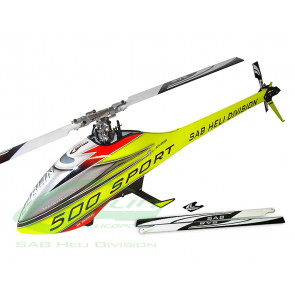 Goblin 500 Sport Yellow/Red Helicopter Kit