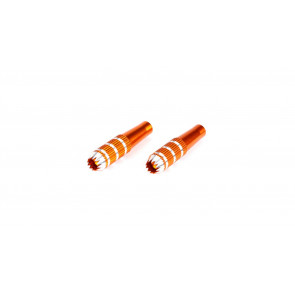 SPEKTRUM Gimbal Stick Ends, 34mm, Orange: DX6i, DX7s, DX8, DX9, DX18QQ