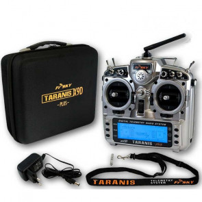 Taranis Plus X9D, Transmitter / Charger Only with EVA Case, No Receiver