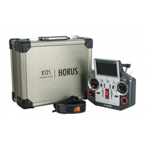 FrSky Horus X12S Radio, No Reciever, with Case - Silver