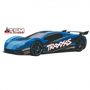 Traxxas 1/7 XO-1 Supercar TSM/TQi Brushless 4WD Blue