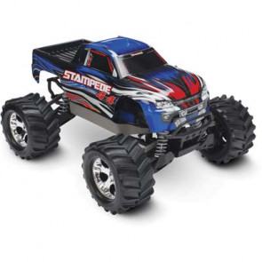 Traxxas 1/10 Stampede 4X4 Brushed Monster Truck Blue