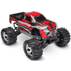 Traxxas 1/10 Stampede 4X4 Brushed Monster Truck Red