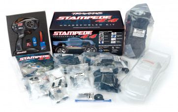 TRAXXAS 1/10 Scale Stampede 4x4 Unassembled Kit