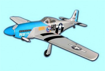 AIRBORNE MODELS P-51 MUSTANG 1/7 SCALE