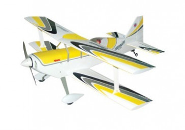 AIRBORNE MODELS 50cc ULTIMATE BIPLANE 27% YELLOW