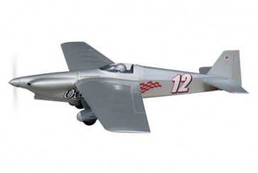 AIRBORNE MODELS Outrageous 40 Size for EF1 Class Racing ARF, Silver
