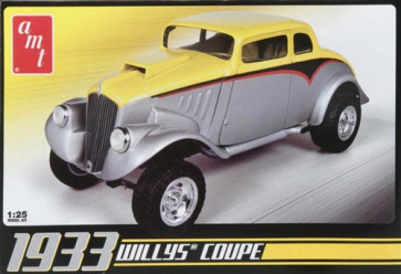 AMT639 AMT 1/24 '33 Willys Coupe Model Kit