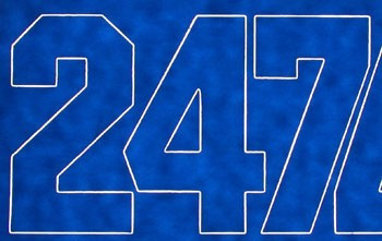 """Coverite Numbers Blue 2"""""""
