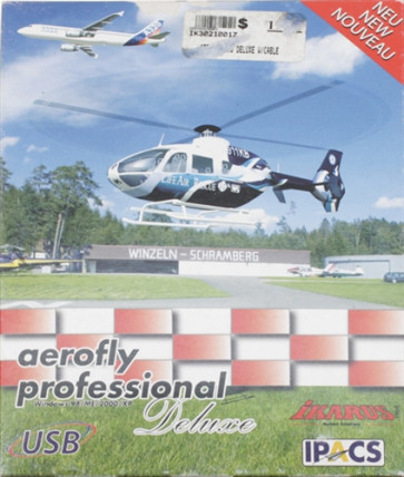 IKARUS AEROFLY PRO DELUXE W/Cable