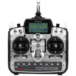 JR 8ch XP8103H Transmitter with R700 Receiver and (5) S811 Servos