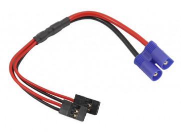 GRAVES RC HOBBIES EC3 CONNECTOR TO DUAL JR Y WIRE