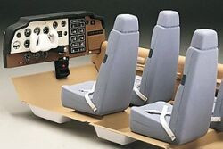 Top Flite Cockpit Interior Kit Beechcraft Bonanza