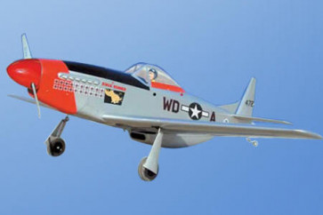 Airborne Models P-51D Mustang G.S. ( S1 - Military Silver )