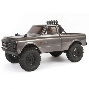 Axial SCX24 '67 Chevrolet C10 Pickup 1/24 4WD RTR Silver