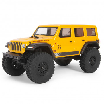 Axial 1/24 SCX24 2019 Jeep Wrangler JLU CRC 4WD RTR Yellow