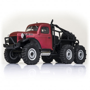 FMS 1/18 Atlas 6x6 RTR Crawler, Red
