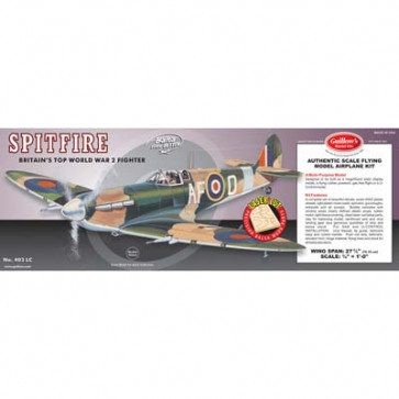 Guillow's Model Kit WWII Model Spitfire