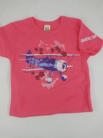 Graves RC Caribbean Biplane Shirt - Girls