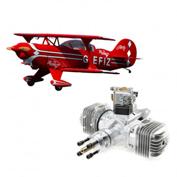 Hangar 9 Pitts S-2B 50-60cc with DLE 60cc Twin Engine
