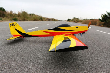 """PILOT RC 88"""" Sport Trainer - Red, Yellow, Black"""