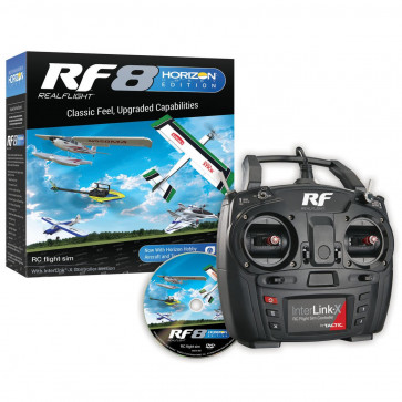 REAL FLIGHT 8 Horizon Hobby Edition with InterLink-X Controller