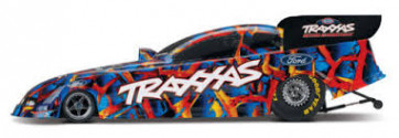 Traxxas Ford Mustang NHRA 1/8 Electric RTR Funny Car Special Edition with Red Accessories