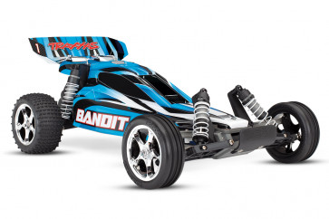 Traxxas Bandit XL-5 1/10 Scale 2WD Electric RC Buggy - BlueX