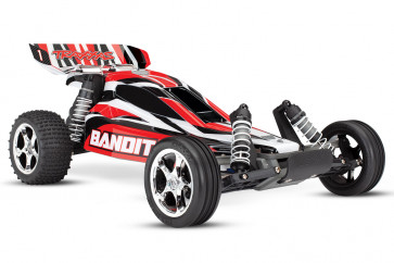 Traxxas 1/10 Scale Bandit XL-5 Buggy RTR - Red