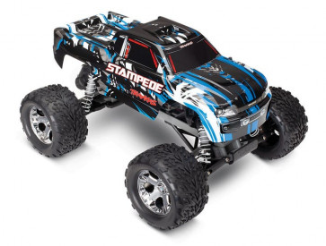 TRAXXAS Stampede: 1/10 Scale Monster Truck with TQ 2.4GHz Radio System - BLUE