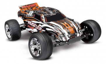 TRAXXAS RUSTLER RTR W/ XL-5 ESC ORANGE