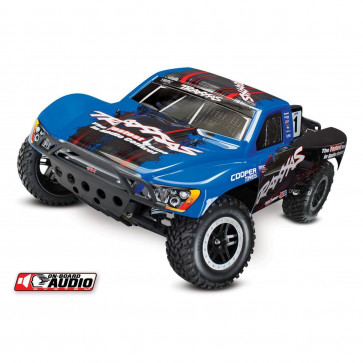 Traxxas Slash 2WD Short Course OBA and ID RTR Blue