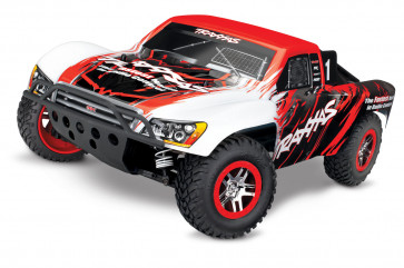 TRAXXAS 1/10 Scale 4WD Brushless Short Course Slash VXL Truck - Red