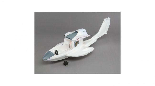 efl5867 e flite bare fuselage with rudder pushrods icon a5 remote controlled hobby. Black Bedroom Furniture Sets. Home Design Ideas
